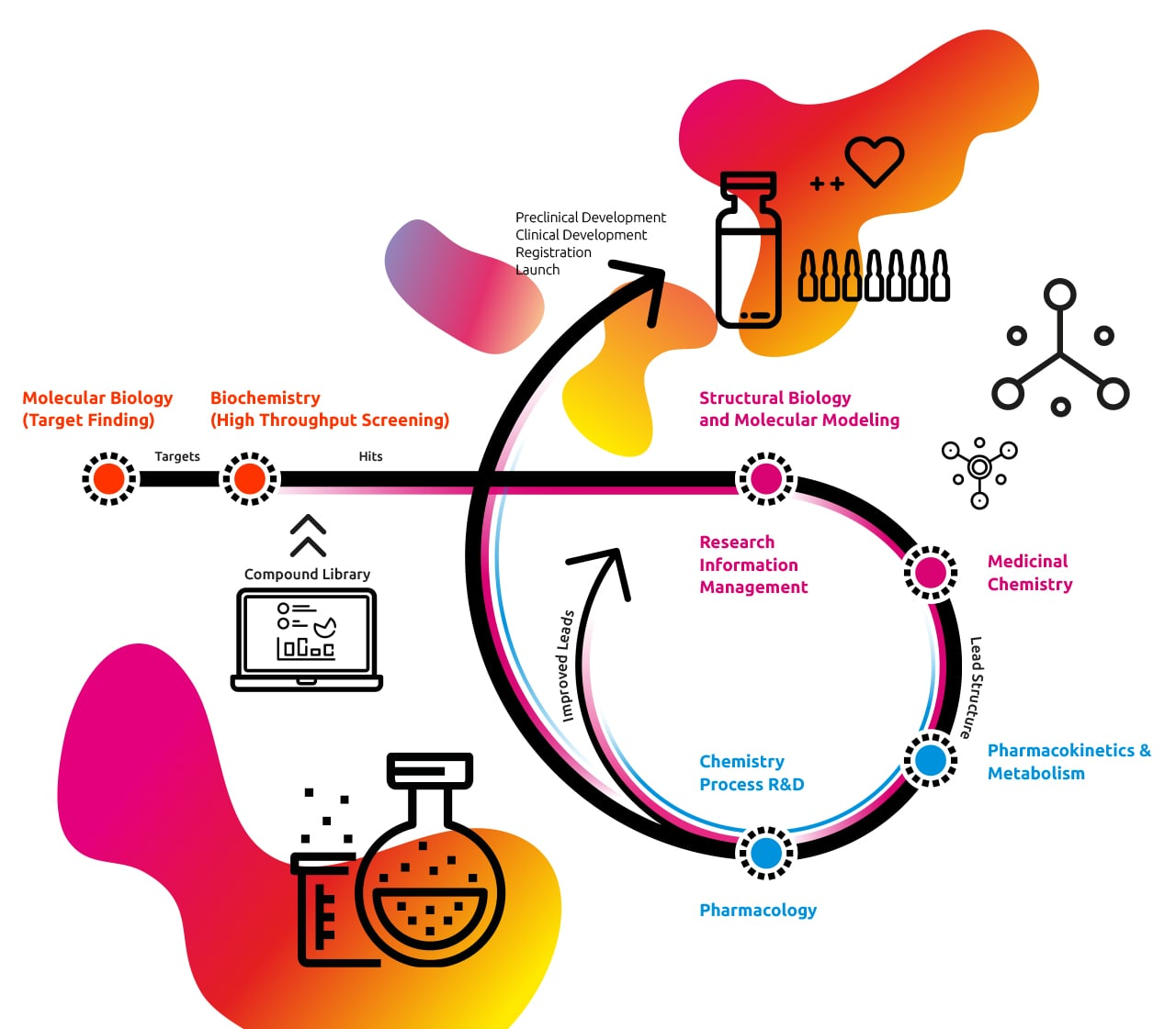 Our drug discovery process by Idorsia